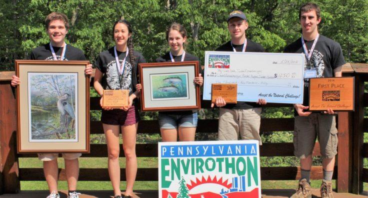Delaware County wins 2016 Pennsylvania Envirothon