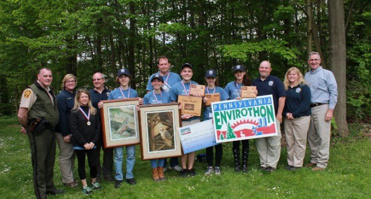 Delaware County wins 2017 Pennsylvania Envirothon