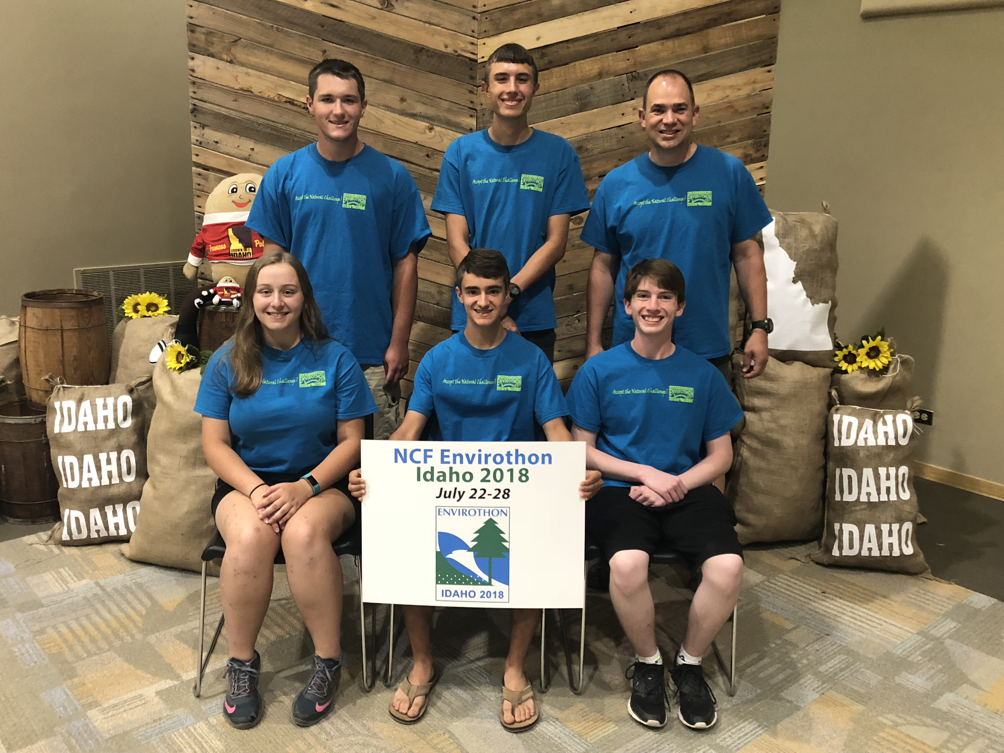 Pennsylvania Team Competes in NCF-Envirothon Competition