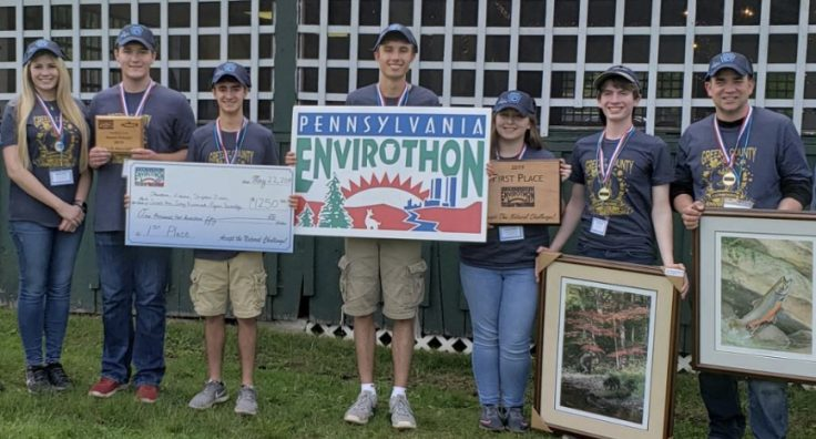 Greene County wins 2019 Pennsylvania Envirothon