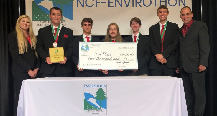 Pennsylvania Team wins Third Place at NCF-Envirothon