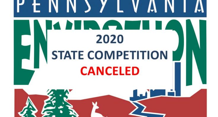 2020 Pennsylvania Envirothon State Competition Canceled