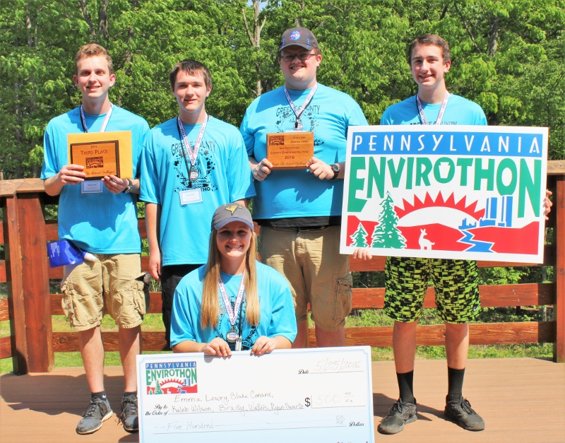 3rd Place - Greene County, Carmichaels Area HS